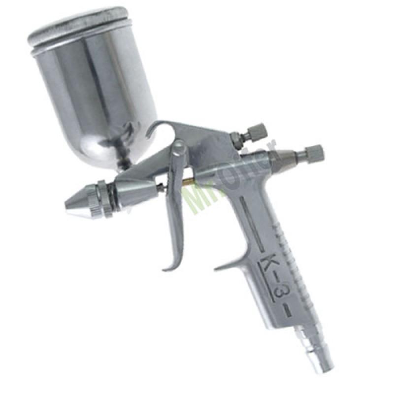 Pistola a spruzzo compressore aerografo con serbatoio for Pistola a spruzzo elettrica professionale
