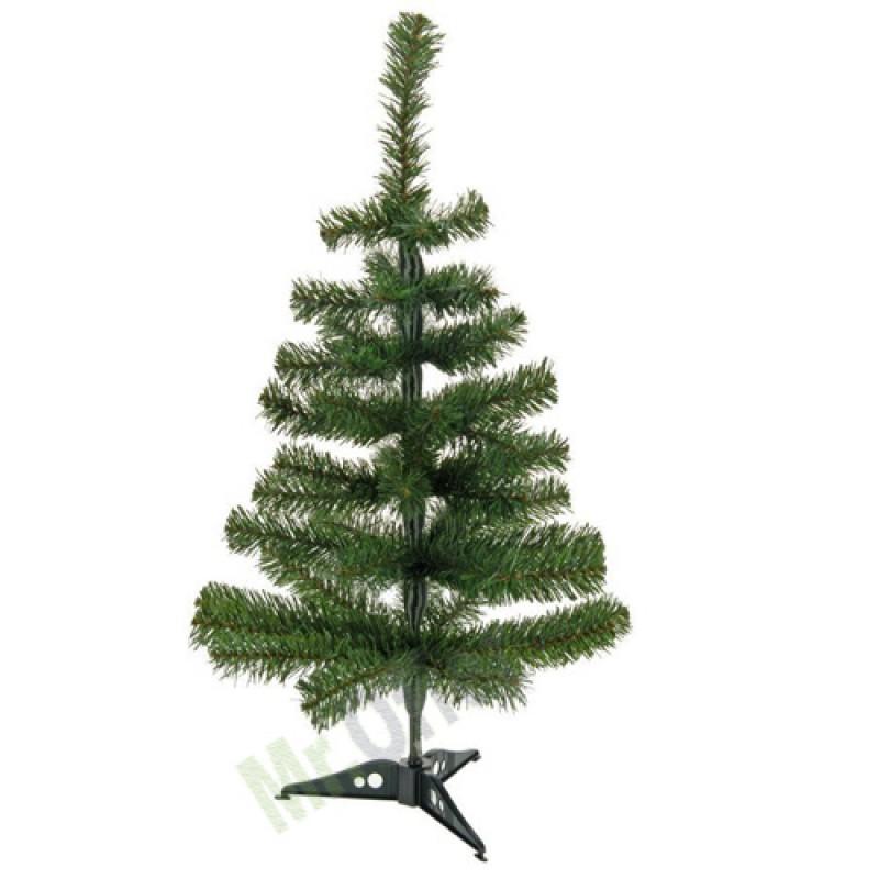 Albero di natale artificiale ecologico 60 cm verde alberi for Alberi di natale artificiali