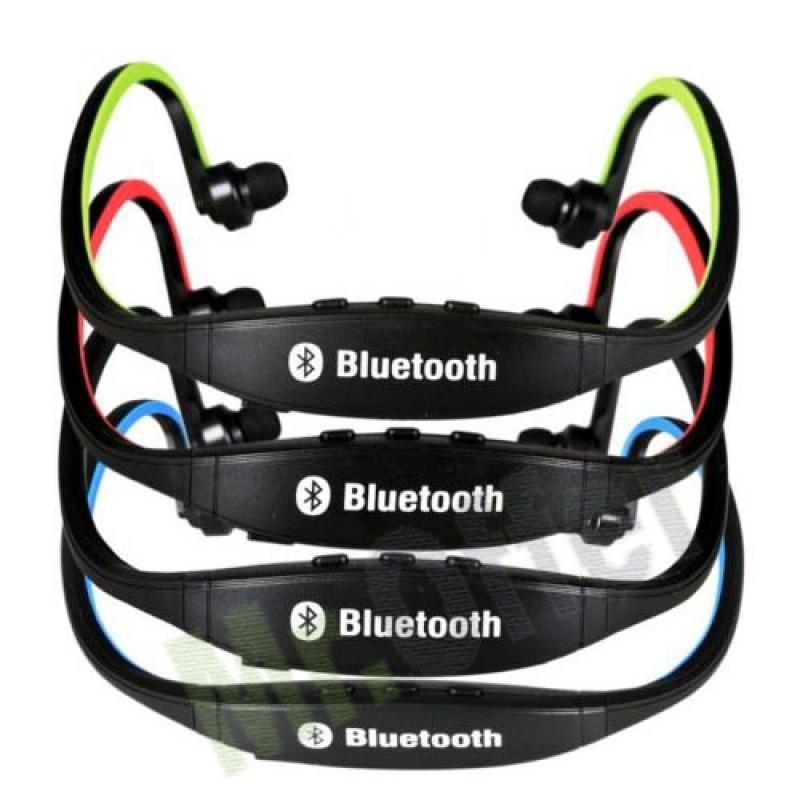 Auricolare senza fili cuffie bluetooth per telefono cellulare auricolari cuffia ebay - Cuffie per sport ...