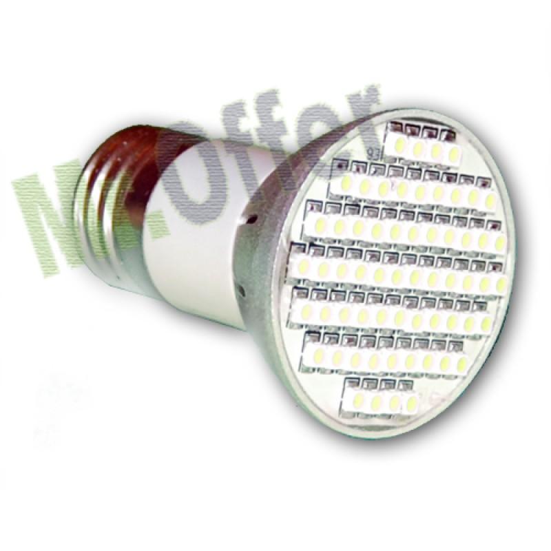 Lampadina 60 led smd 5 watt lampada 60 smd led a risparmio for Faretti basso consumo