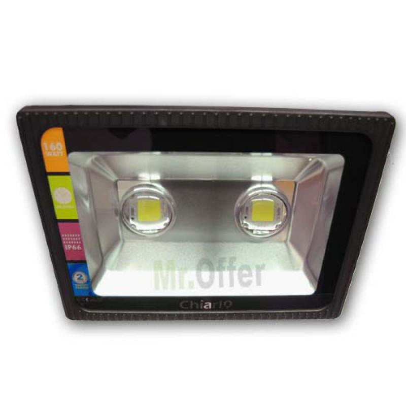 Faro led esterno 160w watt luce bianca lampada fari per - Fari da esterno led ...