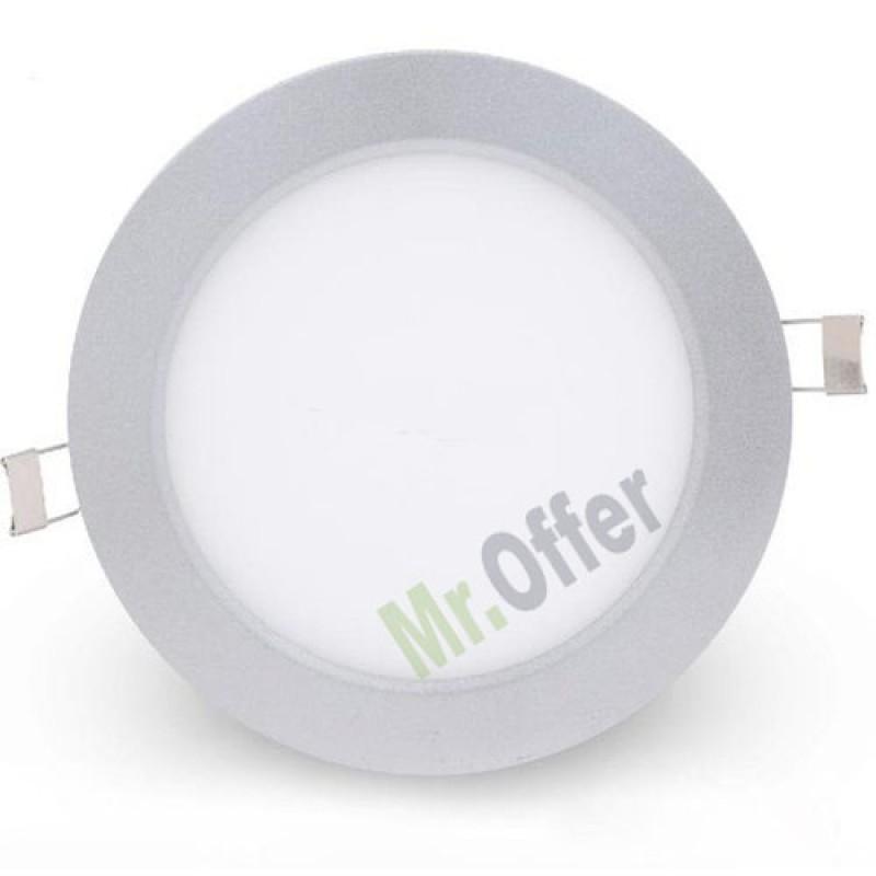 Faretto led 6w luce bianca o gialla per esterni e interni, faretti da incasso...