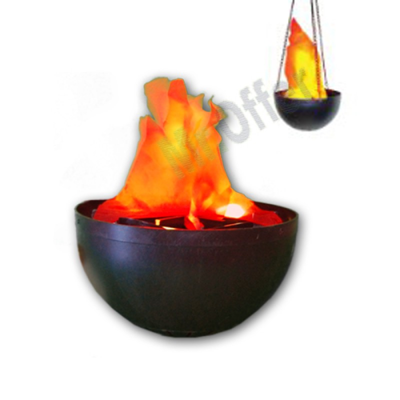 Lampada elettrica effetto fiamma e fuoco finta lampade per for Fuoco finto per camino