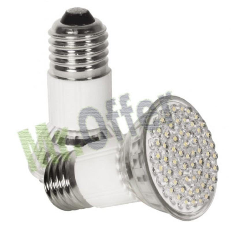 Lampadina 60 led 5 watt attacco e27 lampada a risparmio for Lampadine basso consumo led