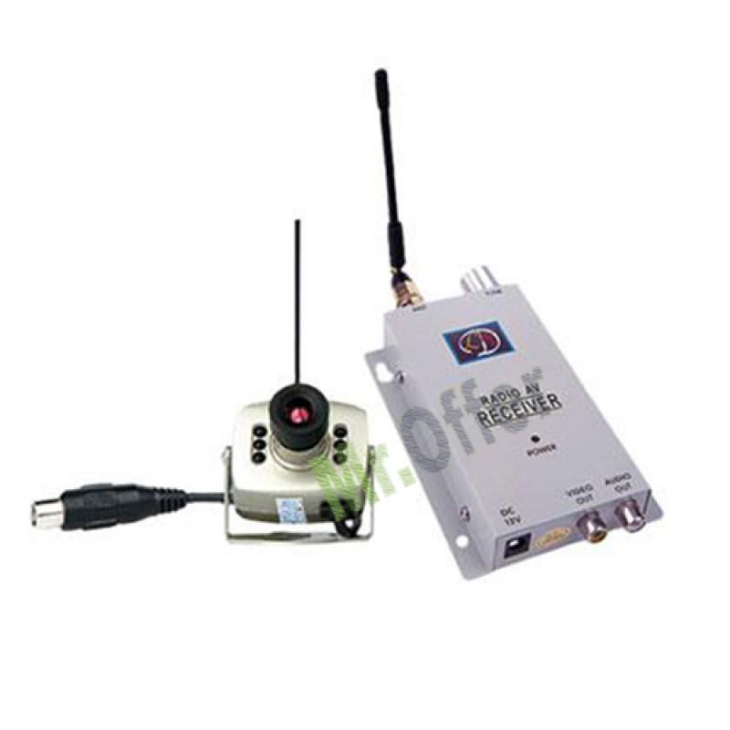 Telecamera Wireless colore a batteria 380 TVL telecamere senza fili microcamera  eBay