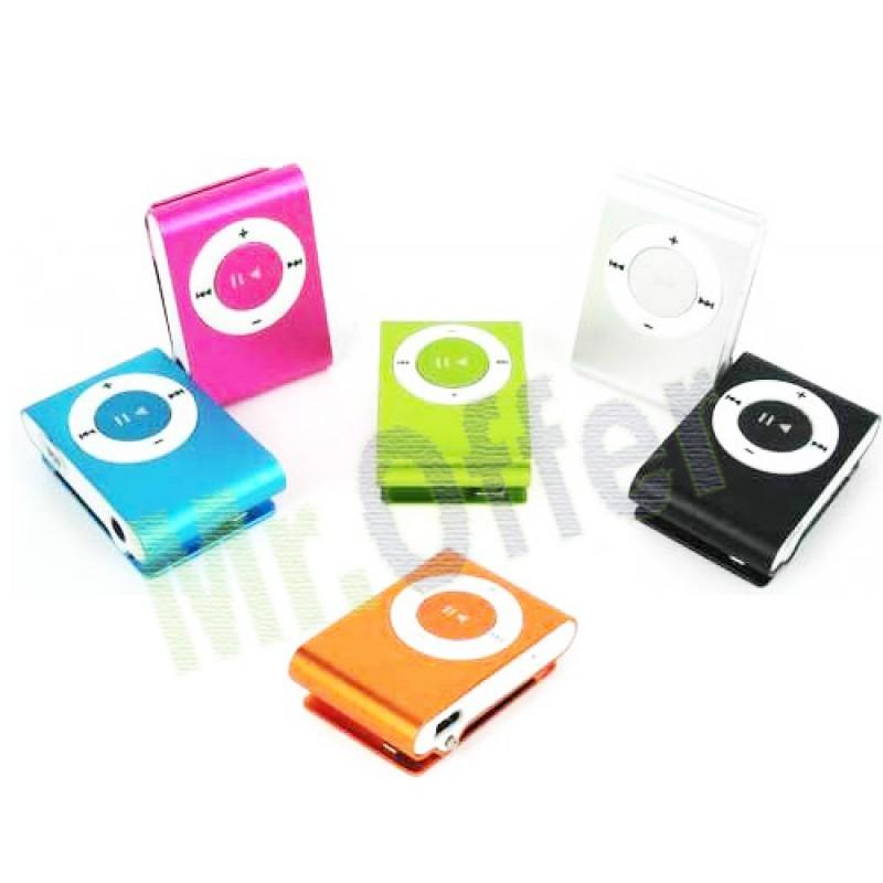Mini lettore mp3 modello clip con micro sd da 4 gb inclusa lettori audio ebay - Lettore mp3 da tavolo ...