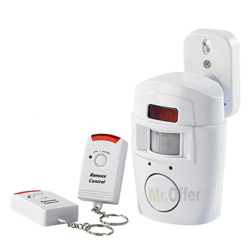 Antifurto casa wireless allarme senza fili con sensore di - Allarme casa wireless ...