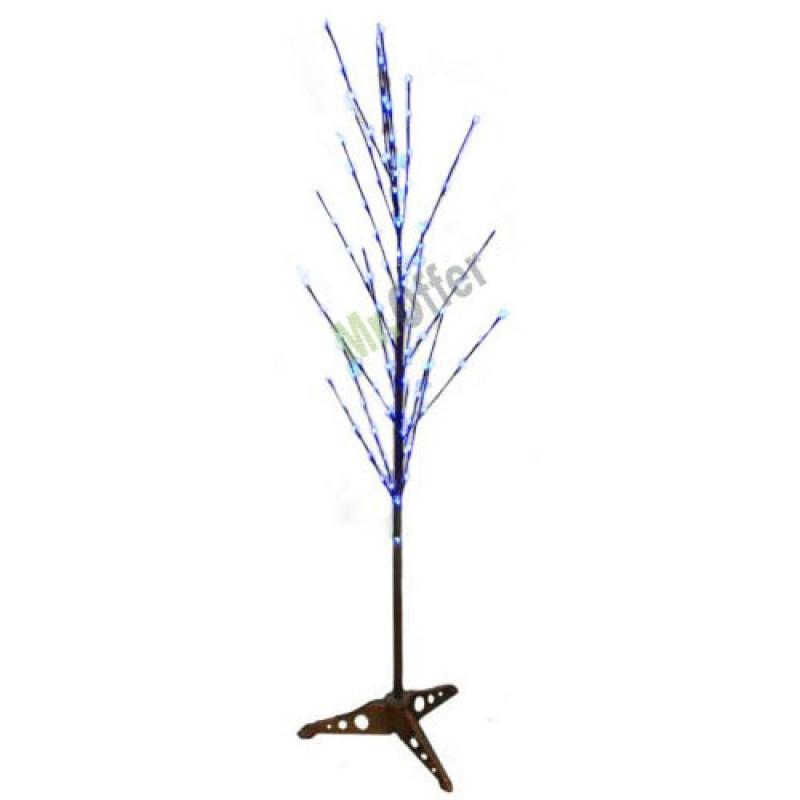 Rami luminosi natalizi 100 luci led colore multicolore albero di natale ramo