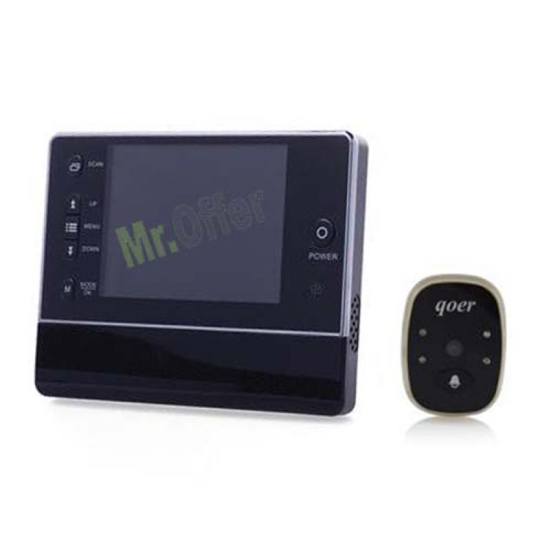 Spioncino digitale con telecamera registrazione su micro - Spioncino porta con telecamera ...