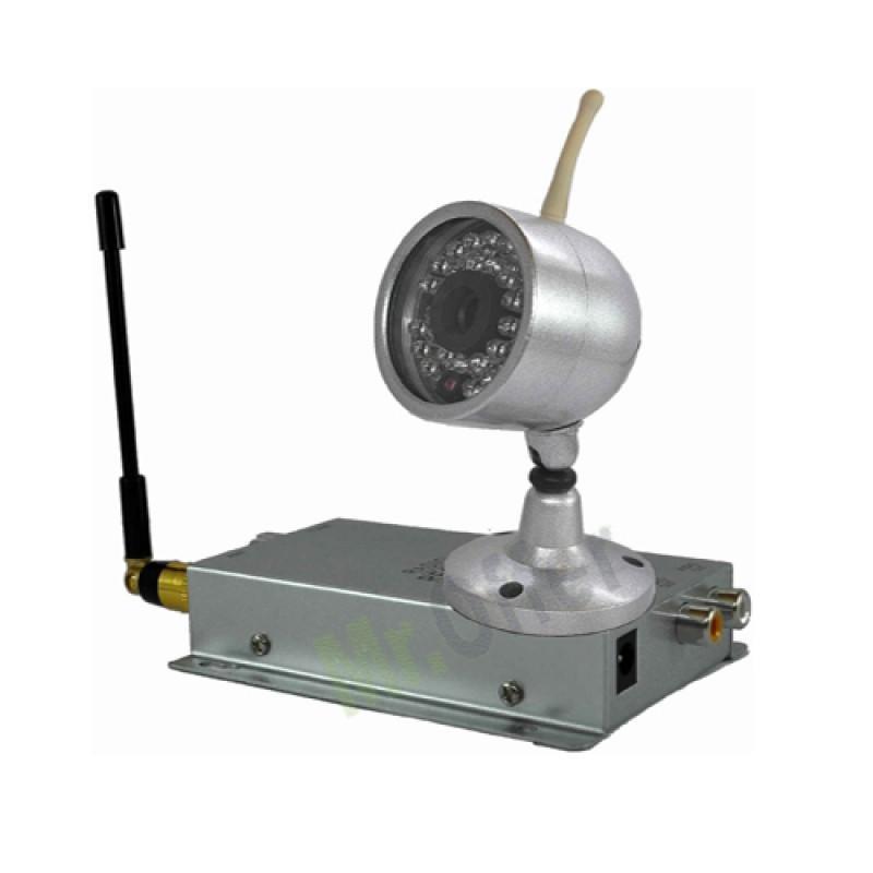 """Telecamera videosorveglianza Wireless senza fili CMOS colori 1/3"""" 380 TVL 30 led"""