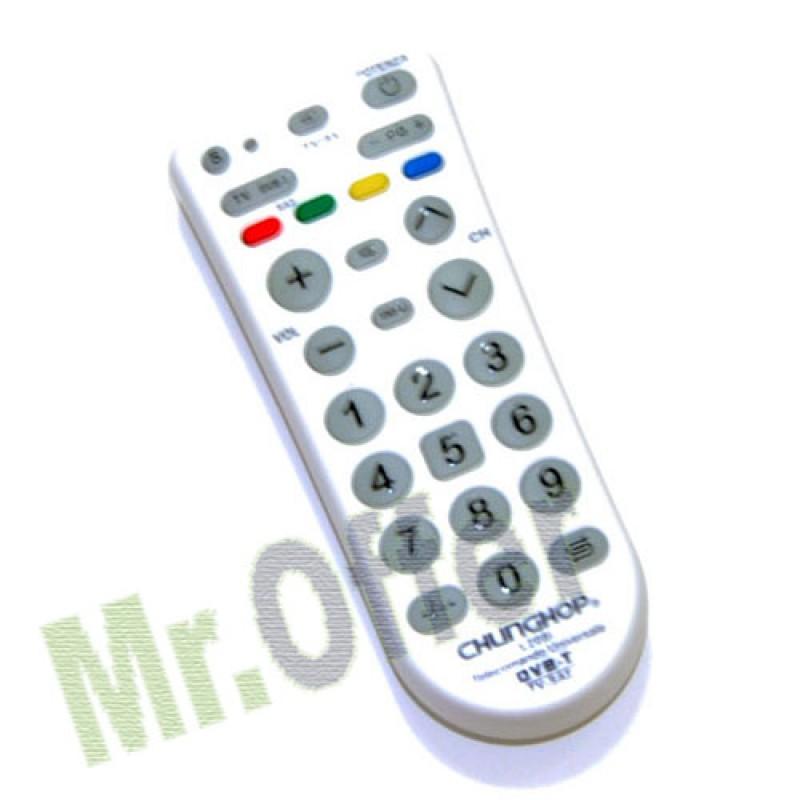 ... digitale terrestre, telecomandi universali per televisori e docoder