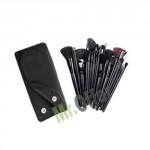 Set di 18 pennelli trucco make up per estetiste e truccatori, pochette porta trucchi professionale