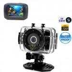 Fotocamera digitale subacquea touch screen hd 720p, macchina fotografica impermeabile antiurto per foto e video sott'acqua