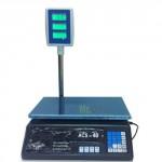 Bilancia pesa alimenti di precisione 30kg con doppio display, bilance digitali per pesare frutta e verdura