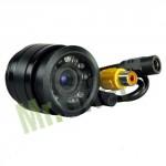 Telecamera retromarcia ad incasso con 9 led infrarossi, microcamere grandangolari auto