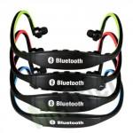 Cuffie bluetooth sport per iphone ipod e smartphone, cuffia auricolari senza fili per telefoni cellulari