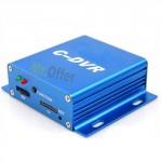 DVR videosorveglianza 1 canale portatile, registra audio e video su memoria micro SD 8GB inclusa
