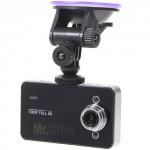 Telecamera per auto dvr infrarossi schermo lcd 2.4 motion detection, telecamere infrarossi Full HD con registrazione su micro sd