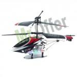 Elicottero mini telecomandato 3 canali con led e telecomando infrarossi