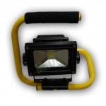 Faro a led portatile 10w per interni ed esterni, fari led portatili ricaricabili alta illuminazione
