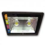 Faro led esterno 160 watt con 2 lampade led alta potenza, fari led alta luminosità