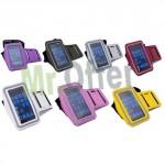 Fascia braccio sport impermeabile per cellulare, custodia universale iPhone per correre in sicurezza