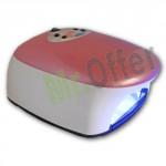 Forno ricostruzione unghie per estetista con lampada UV professionale 36W, fornetto per unghie