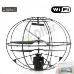 Elicottero telecomandato spia con telecamera wireless colori, elicotteri radiocomandati drone per tablet IPad e IPhone