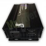 Inverter convertitore di corrente per auto 4000W, trasformatore di corrente per camper e barca DC 12V TO AC 220V