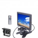 kit telecamera di retromarcia 18 led con monitor lcd 7 pollici, kit parcheggio con schermo e retrocamera auto e camper