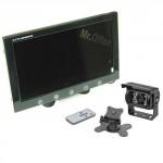 kit retrocamera per camper con monitor 9 pollici e telecamera 18 led, kit parcheggio con schermo e retrocamere auto