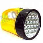 Lampada torcia 19 led ricaricabile a luce bianca per campeggio, torce portatili ricaricabili a led