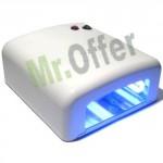 Fornetto unghie con lampada UV professionale 36W ricostruzione unghie con timer elettronico