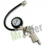 Pistola con manometro professionale per compressori ad aria, manometri per gonfiaggio gomme e pneumatici
