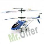 Elicottero mini radiocomandato 3.5 canali con led e giroscopio