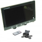 Monitor tv 10 pollici per telecamera di retromarcia di auto e camper, monitor a colori per kit di videosorveglianza