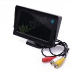 """Monitor auto 4.3"""" colori per telecamera di retromarcia Camper e furgoni, tv per telecamere di sicurezza"""