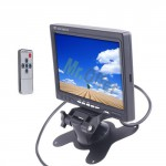 Monitor LCD 7 pollici per telecamera videosorveglianza colori, monitor per telecamere di retromarcia di auto e camper