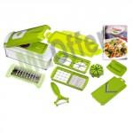 Nicer dicer plus taglia, affetta, sbuccia frutta e verdure. Il tagliaverdura è un pratico robot da cucina