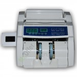 Rilevatore conta banconote false professionale con doppio display digitale, controlla e verifica soldi contraffatti