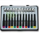 Set cacciaviti professionali di precisione 12 pezzi, kit cacciavite per cellulari