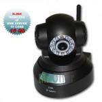 Telecamera videosorveglianza IP wireless con micro SD 16 GB, telecamere Speed Dome CMOS 300K pixels 10 Led