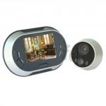 Spioncino digitale elettronico con registrazione video, spioncini digitali con telecamera e monitor colori 3.5