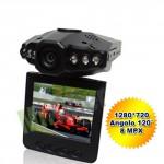 Telecamera per auto senza fili, DVR con 6 led per visione notturna. Videocamera per videosorveglianza con infrarossi