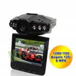 Telecamera DVR per auto visione notturna, videocamera senza fili con micro SD 4GB risoluzione 1280*720 30fps