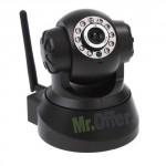 Telecamera videosorveglianza IP wireless Speed Dome, telecamere WI FI con slot Micro SD 10 Led