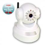 Telecamere videosorveglianza wireless IP, Speed Dome 10 led bianca micro SD 16GB