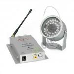Telecamera videosorveglianza infrarossi wireless colori 30 led, microcamera notturna con ricevitore