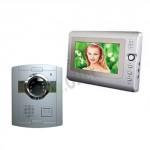 kit videocitofono monofamiliare con monitor 7 pollici e telecamera 6 led infrarossi, videocitofoni a colori con vivavoce