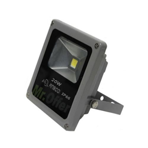 Faro led 30w con sensore di movimento faretto luce bianca for Fari led per interni